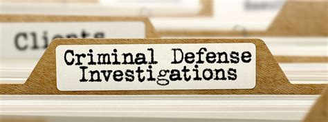 Can I Be A Investigator With A Criminal Record Why Hire A Criminal Defense Investigator