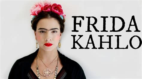 Frida Kahlo Hairstyle by Frida Kahlo Makeup Hair Look
