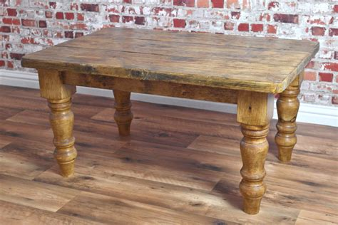 Rustic Farmhouse Coffee Table Rustic Farmhouse Pine Coffee Table Made From Reclaimed Wood