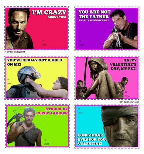 the walking dead valentines cards walking dead s cards lol omg