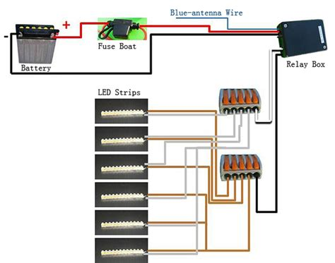 6 best images of simple boat light wiring diagram boat