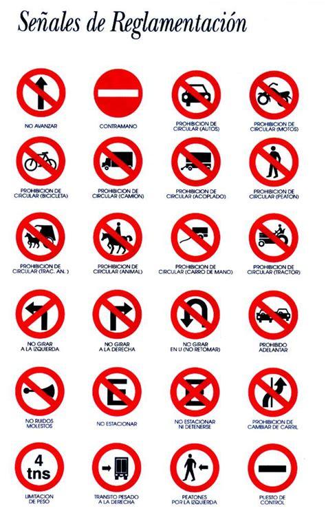 imagenes de simbolos que hay en la calle las se 241 ales de transito se 241 ales viales iconos indicaciones