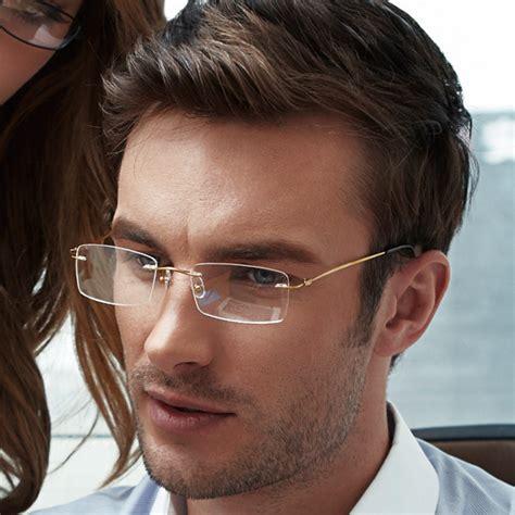 rimless eyeglasses for www pixshark images