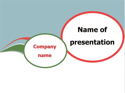 download free communication bubble powerpoint template for
