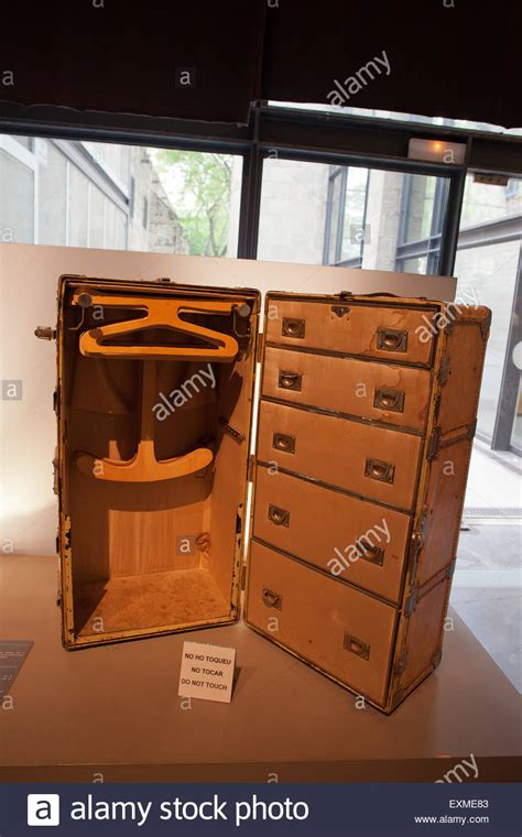 travel suitcase with drawers large vintage cruise suitcase with hangers and drawers in