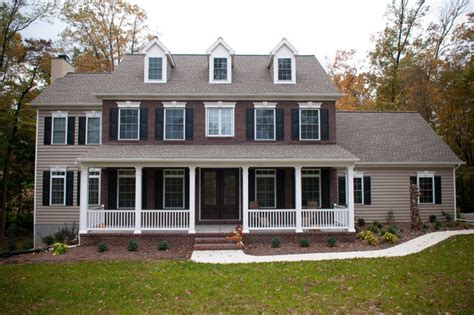 two story colonial custom home two story colonial traditional exterior