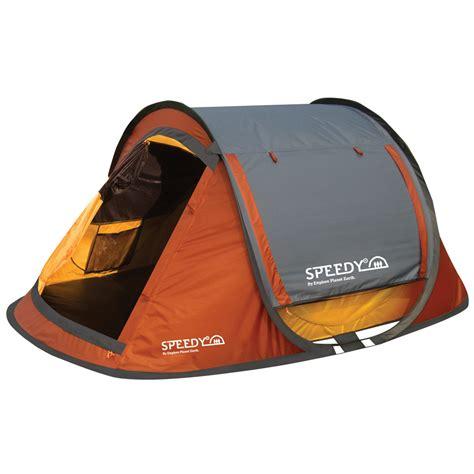 pop up tent awning epe speedy 3 person pop up tent orange grey anaconda