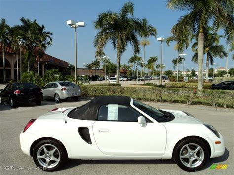Paint For Home Interior Super White 2002 Toyota Mr2 Spyder Roadster Exterior Photo