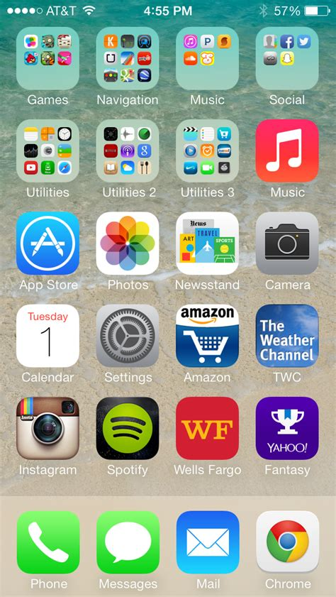 iphone menu ios 7 on iphone 5 review