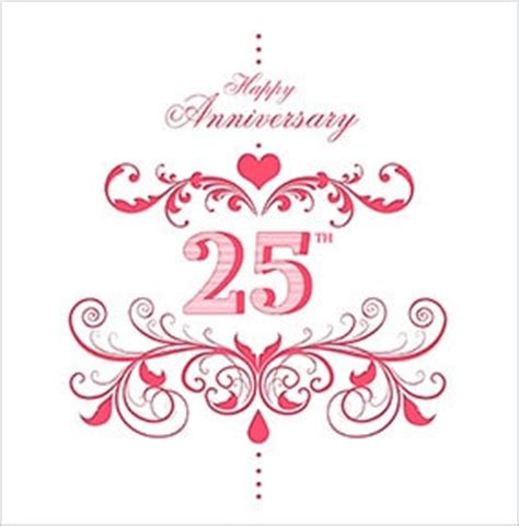 Wedding Anniversary Cards 25 Years by 25th Wedding Silver Anniversary Cards Funky Pigeon