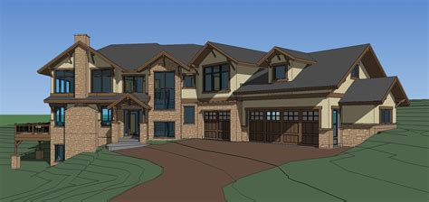 custom house designs elk meadow estates custom home plans completed