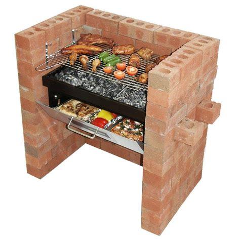 diy brick bbq grill kit stuff to buy brick