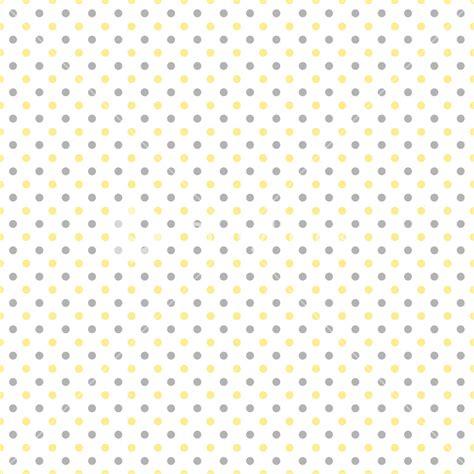 big white polka dots on yellow seamless stock vector illustration
