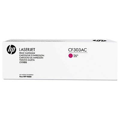 Hp Magenta Contract Original Toner Cartridge Cf313ac hp cf303ac magenta contract original laserjet toner cartridge with smart printing technology
