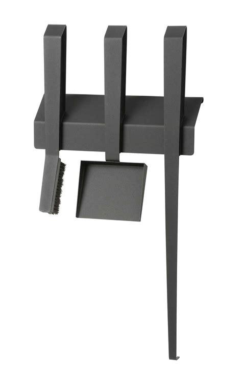 kaminbesteck design kaminbesteck edge iii wandh 228 ngend stahl schwarz kaufen