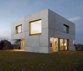 concrete home designs minimalist in germany modern