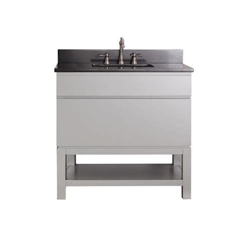 Bathroom Vanity Open Shelf 36 Inch Single Sink Bathroom Vanity With An Open Shelf Uvactribecavb36cg36
