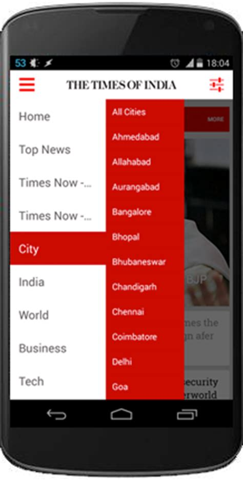 www timesofindia mobile best android news app the times of india andriod news app