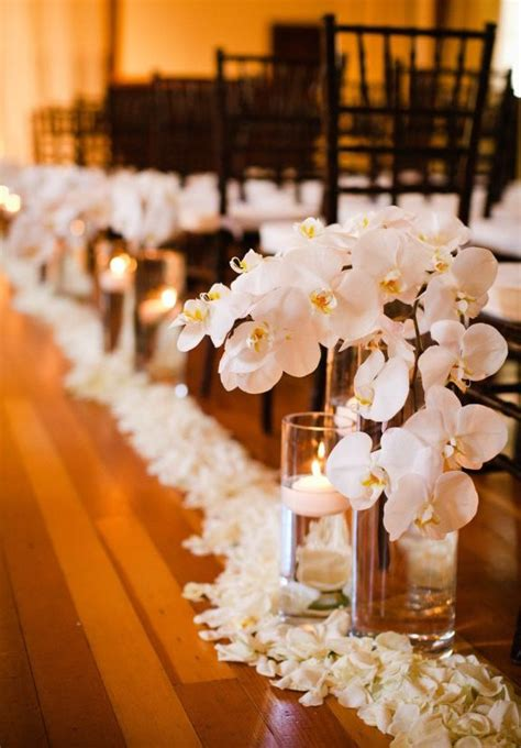 wedding aisle decorations with candles indoor ceremony decorations archives weddings romantique