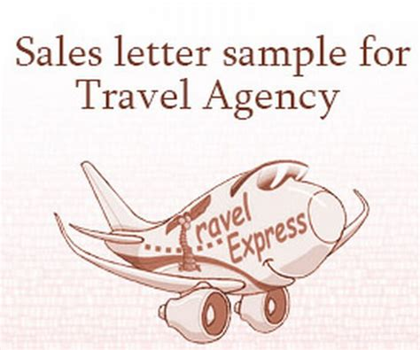 Introduction Letter Of Travel Agency Sales Letter
