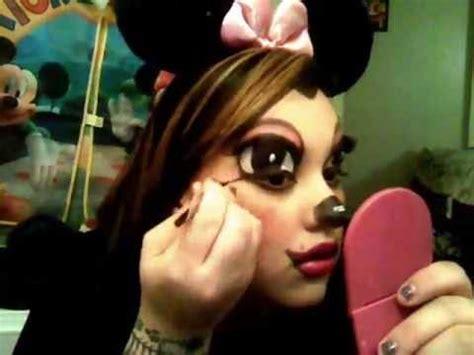 Mini Maus Schminkvorlage by Minnie Mouse Make Up Tutorial