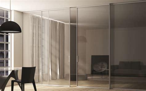 porte scorrevoli in cristallo per interni porte scorrevoli in vetro made in italy