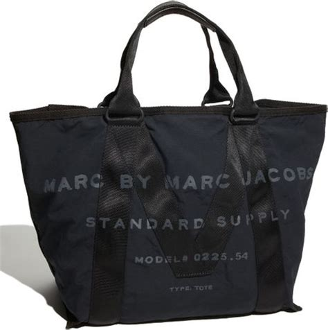 Marc By Marc Standard Supply Tote by Marc By Marc M Standard Supply Fabric Tote In Black
