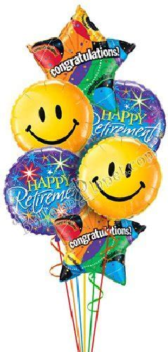 Best Wishes, Good Luck, Retirement Balloon Delivery and