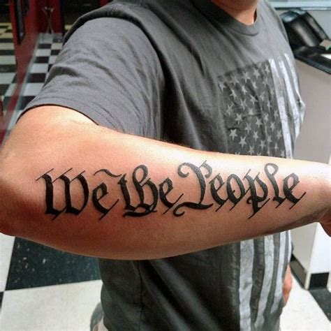 we the people tattoo 60 we the designs for constitution ink