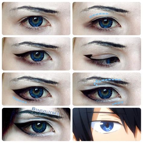 tutorial eyeliner cosplay 69 best images about cosplay makeup male on pinterest