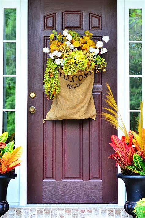 fall door decorations ideas  decorating  front