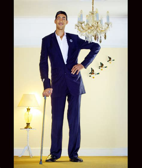 The Tallest Alive by Sultan Kšsen Is The Tallest Alive He Measured 251cm