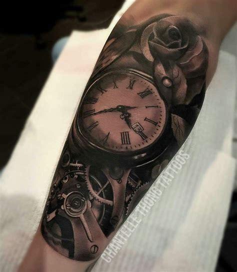 imagenes tatuajes reloj tatuajes antebrazo hombre reloj