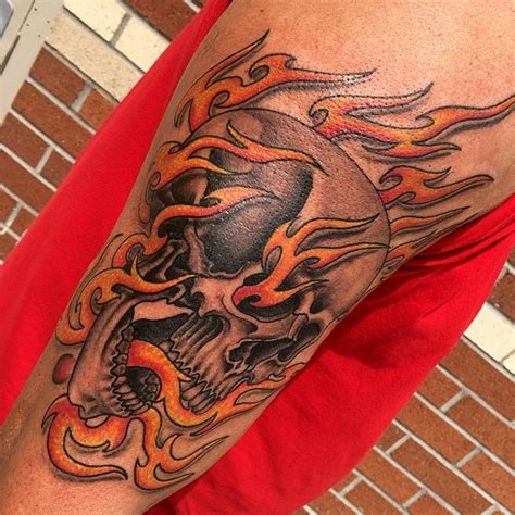 fire tattoos for men 85 designs meanings for and 2019