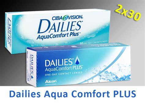 dailies comfort plus focus dailies aqua comfort plus 2 215 30 st 252 ck tageslinse n