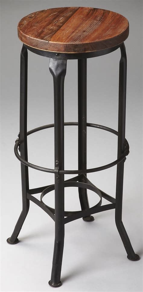 Chic Bar Stool by Industrial Chic Metalworks Bar Stool 1167025 Butler