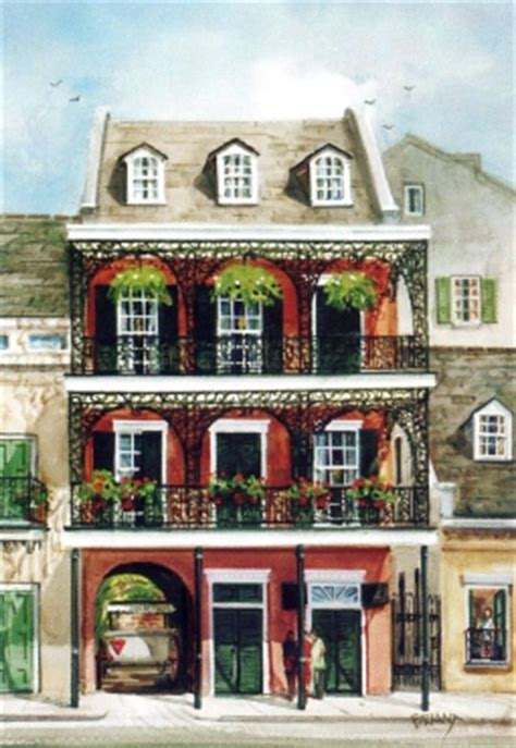Townhouse Or House Peter Briant French Quarter Townhouse New Orleans La Gicl 233 E
