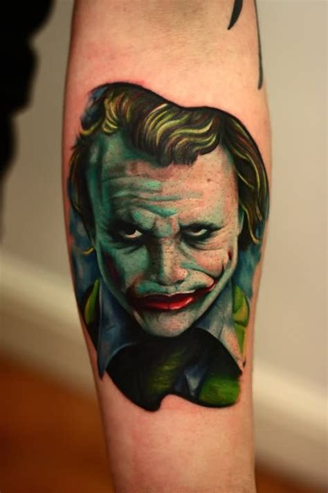 heath ledger joker tattoo designs 30 awesome heath ledger joker tattoos