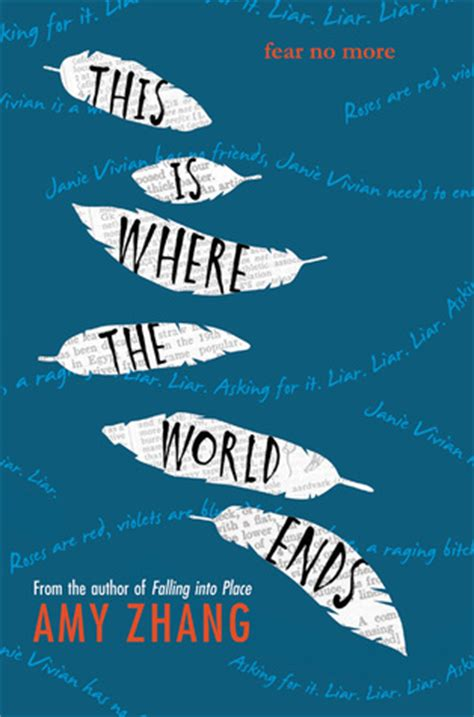 where my ends and the world begins books this is where the world ends by zhang reviews