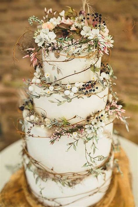 Hochzeitstorte Rustikal by 45 And Wedding Cakes Graceful Inspiration