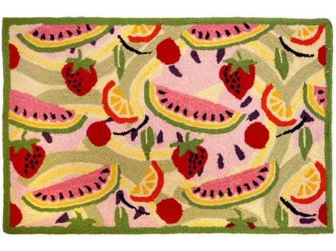 kitchen rugs fruit design 1000 images about pretty practical kitchen rugs on