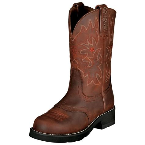 womans western boots s 10 quot ariat 174 probaby western boots 153844 cowboy