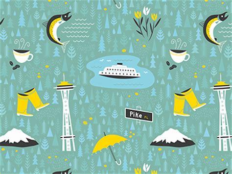 Pattern Maker Jobs Seattle | seattle fabric by brad woodard dribbble