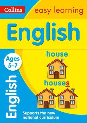 0008134200 collins easy learning age collins easy learning ks1 english ages 5 7 collins easy