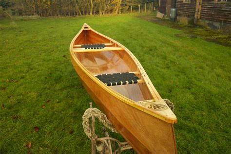 Handmade Canoe - weston 149 wooden canoes handmade in norfolk