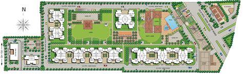 housing layout plan group housing plans house design plans