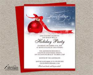 diy printable holiday party invitation christmas invitations