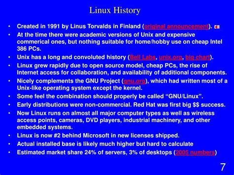 linux tutorial ppt ppt 95 799 linux mini fall 07 powerpoint presentation
