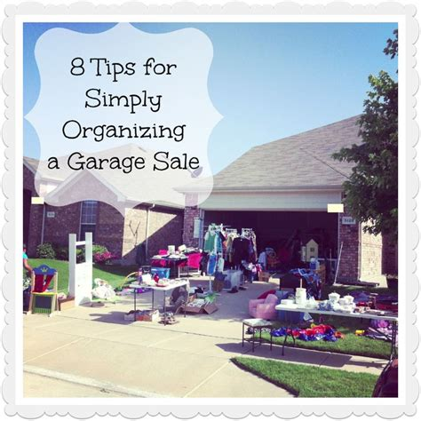 how to organize a garage sale 17 best images about yard sale ideas other money