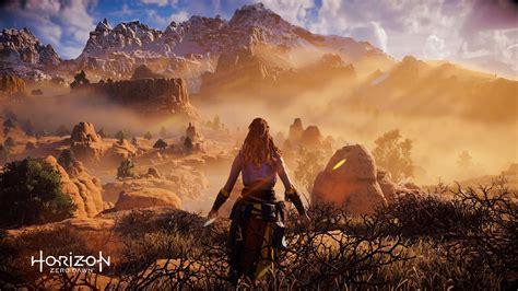 horizon  dawn playstation  video games aloy